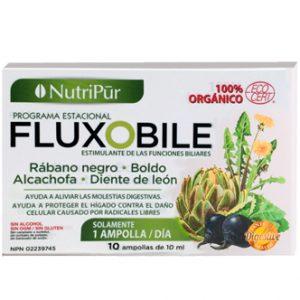 Fluxobile -Nutripur - Desintoxicante 100% orgánico, limpia el hígado y ayuda a restaurar una mejor digestión mediante la estimulación de las funciones biliares.