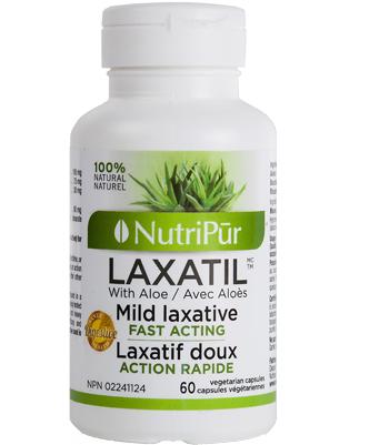 Laxatil - Nutripur - Herbes médicinales traditionnelles qui soulagent en douceur la constipation occasionnelle.