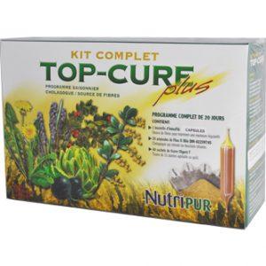 Kit Top Cure Plus-Nutripur - Programme complet à base de plantes visant la désintoxication du foie, du côlon et des reins.
