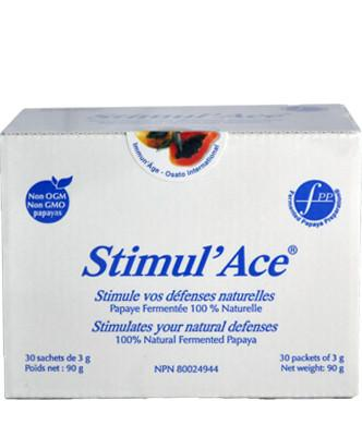 Osato Stimul'ace - Nutripur - Dietary supplement used to fight oxidant / antioxidant imbalances caused by environmental pollution and anti-oxidative nutrient deficiencies. Its anti-oxidative properties play a major part in the fight against free radicals.