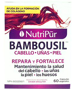 Bambousil Cabello, Piel & Uñas – Nutripur
