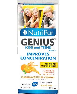 Genius Kids & Teens Liquid – Nutripur