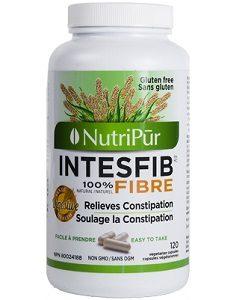 Intesfib capsules - Nutripur - Sans sucre, sans sel, sans colorant, sans agent de conservation.