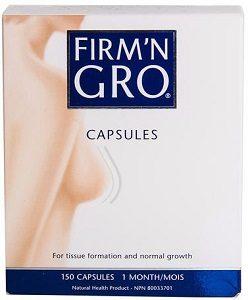 Firm'N Gro 150 capsules - Nutripur - Complément alimentaire 100% naturel spécialement conçu pour embellir et développer les seins de la femme.
