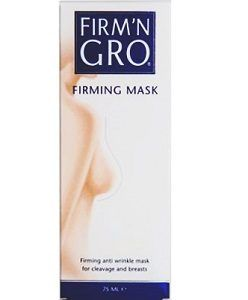 Firm'N Gro Firming Mask - Nutripur - Firm'N Gro® Firming Mask is a night mask containing two unique ingredients for intensive care of breasts and cleavage, helping make the skin firmer and reduces wrinkles.