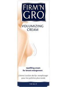 Firm'N Gro Crème Volumisante - Nutripur -Firm'N Gro® Crème Volumisante a été spécialement développés pour raffermir le buste et augmenter leur volume.