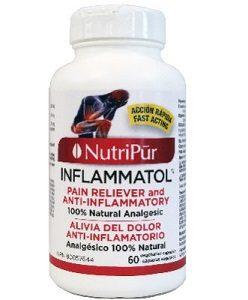 inflammatol - Nutripur-Alivia rápida y efectivamente el dolor articular y muscular, el dolor de espalda y la inflamación.
