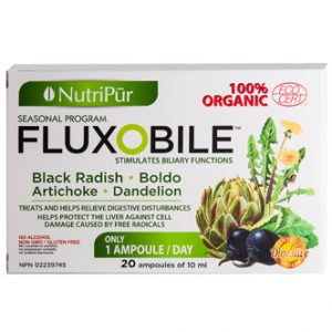 Fluxobile-Nutripur - 100% Organic liver cleanse that restores better digestion by stimulating biliary functions.