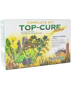 Kit Top Cure Plus-Nutripur-A complete herbal cleansing program targeting the detoxification of the liver, colon and kidneys.