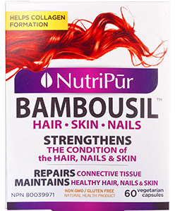 Bambousil Hair, Skin & Nails - Nutripur - Improve the look and feel of your hair, nails, skin and bones! Strengthen from the inside, and see you're beauty become all natural.
