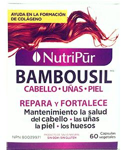 Bambousil Cabello, Piel & Uñas - Nutripur - Para la salud del cabello, la piel, las uñas y los huesos.