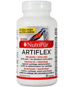 Artiflex- Nutripur - soulage les douleurs articulaires tout en protégeant contre la détérioration de son cartilage, ses ligaments et ses os.