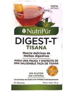 Digest-T -Nutripur - Té de hierbas digestivas de gran sabor que también ayudan a facilitar la digestión!