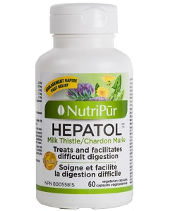 Hepatol - Nutripur - Traditional herbal medicine that supports the liver and facilitates difficult digestion.