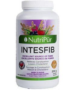 Intesfib en polvo sabor a bayas silvestres- Nutripur - Fibras naturales para ayudar con el control del peso.