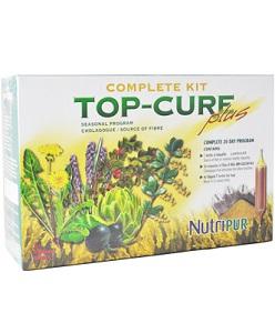 Kit Top Cure Plus - Nutripur - Un programa completo de limpieza a base de hierbas 3 en 1 que ayuda a desintoxicar el hígado, el colon y los riñones.