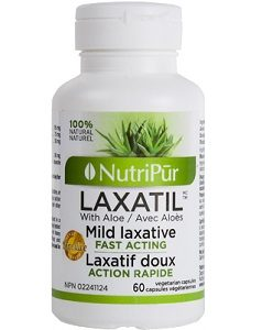 Laxatil -Nutripur- Traditional herbal medicine for the gentle relief of occasional constipation.