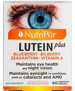 Lutein plus – Nutripur