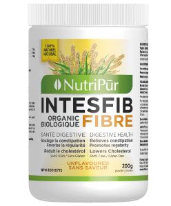 Intesfib Poudre Sans Saveur – Nutripur- Ses fibres naturel aident aussi avec la gestion du poids.