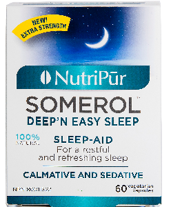 Somerol-Nutripur - Naturally improve your sleep with a combination of plants with sedative virtues.
