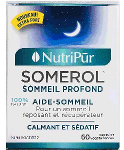 Somerol - Nutripur - Réparer votre sommeil de façon naturelle avec notre combinaison de plantes aux vertus sédatives.