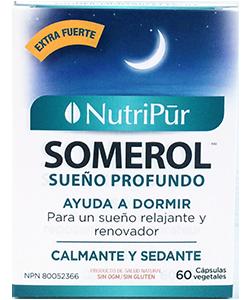 Somerol - Nutripur - Combinación de plantas con propiedades sedantes que promueven el sueño reparador natural.