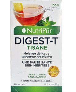 Digest-T - Nutripur - Tisane digestive au goût agréable qui facilite la digestion!