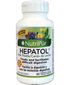 Hepatol- Nutripur - Medicamento a base de hierbas tradicionales que protege el hígado y facilita la digestión.