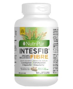 Intesfib Caps – Nutripur –  fibres de psyllium entièrement naturelle est la solution ultime pour soulage la constipation  en douceur et réduit le cholestérol.