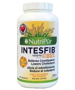 Intesfib en polvo sin sabor - Nutripur - Intesfib es una mezcla exclusiva de fibra pura y de 3 hierbas beneficiosas para su salud.