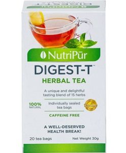 Digest-T-Nutripur - Great tasting digestive herbal tea that also help facilitate digestion!