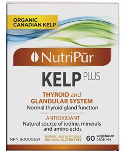 Nutripur - Kelp plus KelpPlus una fuente excepcional de yodo y minerales para ayudar a re-equilibrar la glándula tiroides. KelpPlus ayuda a normalizar la función de la glándula tiroides.